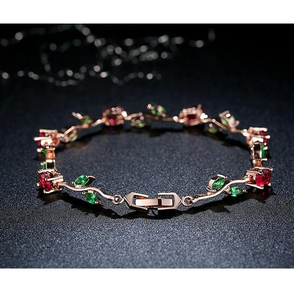 Bracelet avec des roses pour femme