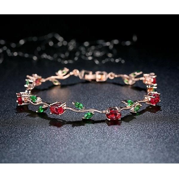 Bracelet avec des roses