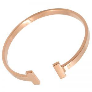 Bracelet jonc rosé, beaux bijoux