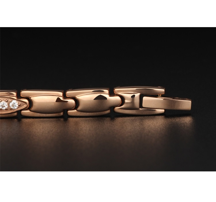 Bracelet magnétique rose, pour guérison naturelle du corps
