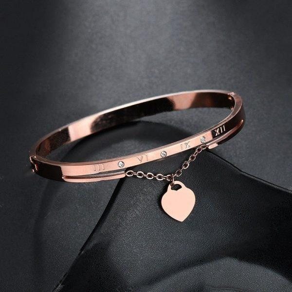 Bracelet rose mariage