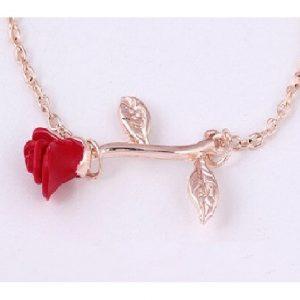 Bracelet rose rouge