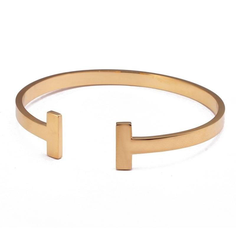 Maginfique bracelet jonc rosé