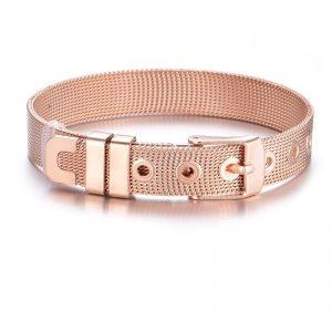 bracelet ceinture rose gold