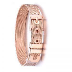 bracelet en forme de ceinture rose