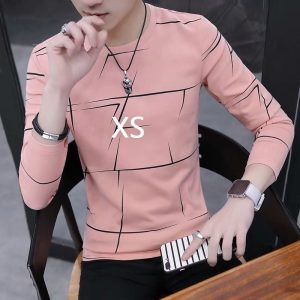 T shirt rose homme XS