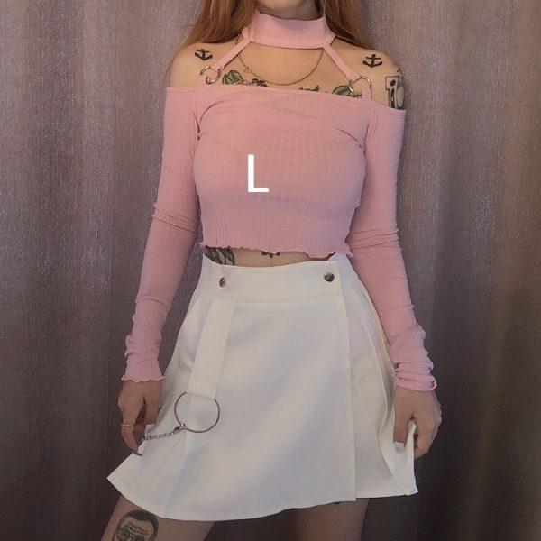 T shirt rose pale L