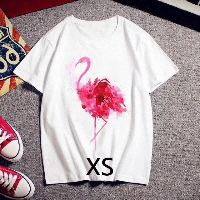 Tee shirt flamant rose XS