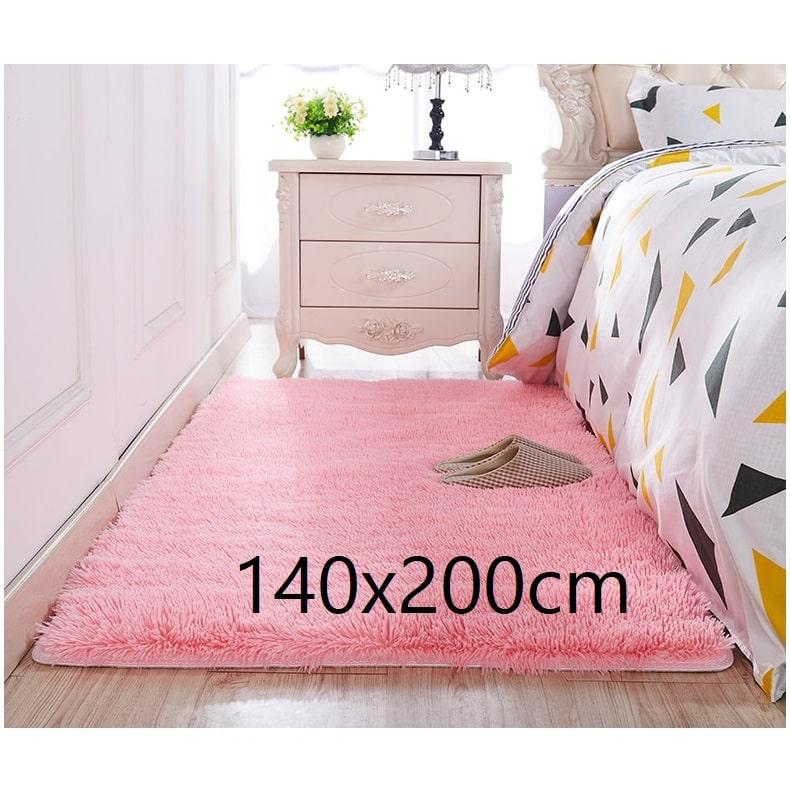 Tapis chambre rose 140x200cm