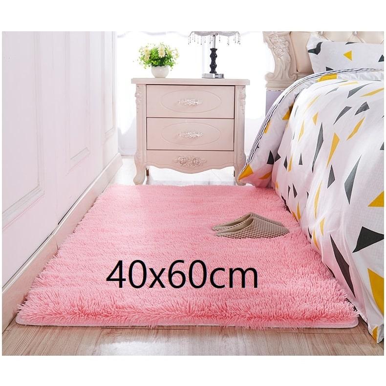Tapis chambre rose 40x60cm