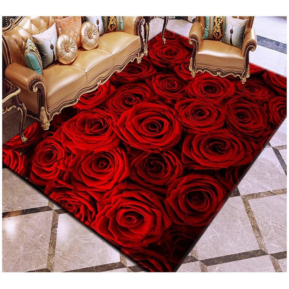 Tapis de rose