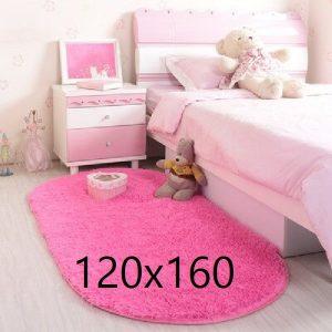 Tapis rose chambre fille, fuchsia 120x160