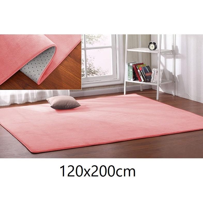 Tapis rose saumon 120x200cm