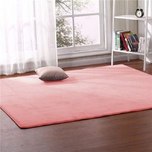 Tapis rose saumon