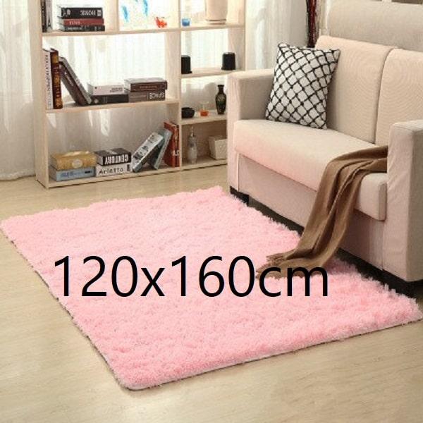 Tapis salon rose pale 120x160cm