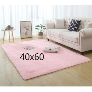 Tapis shaggy rose, 40x60