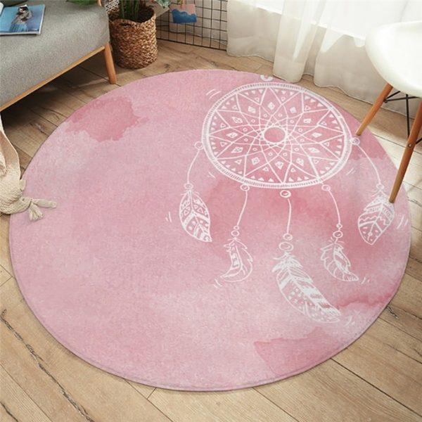 tapis-attrape-reve-de-couleur-rose